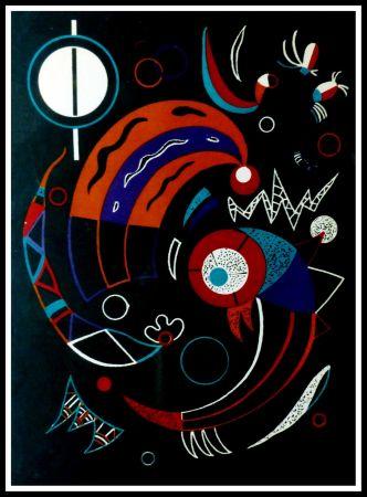 Lithograph Kandinsky - COMETES