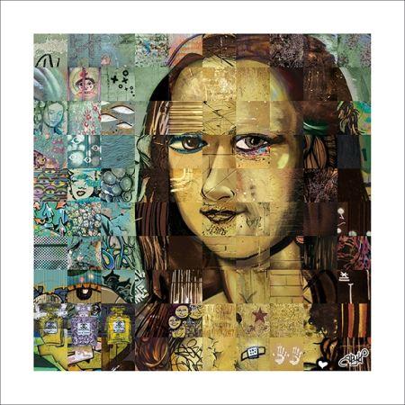 Poster Ary Kp - Comme un air de Mona…