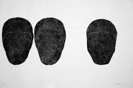Etching Ubac - Comme un sol plus obscur I