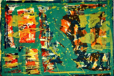 Lithograph Huftier - Comme un tableau