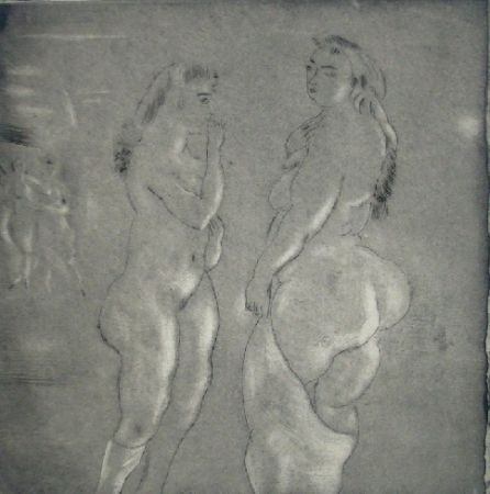 Etching And Aquatint Pascin - Comparaison
