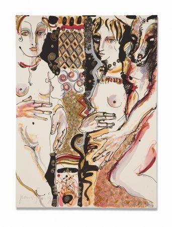 Lithograph Barbera - Compasion