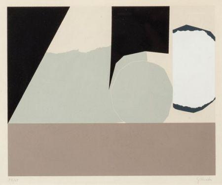 Lithograph Rueda - Composición