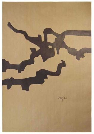 Lithograph Chillida - Composición