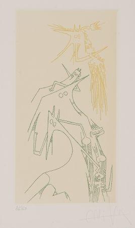Etching Lam - Composición Surrealista