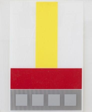 Multiple Soto - Composicion en Amarillo Blanco y Rojo