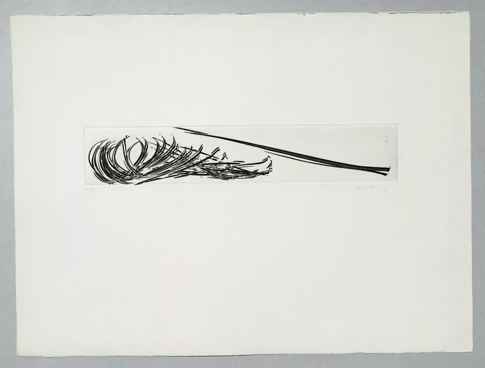 Etching And Aquatint Hartung - Composition