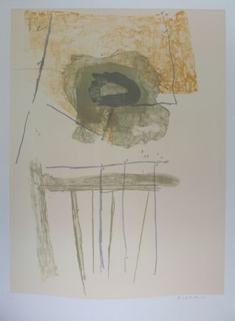 Lithograph Motherwell - Composition