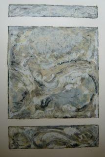 Lithograph Jonneskindt - Composition