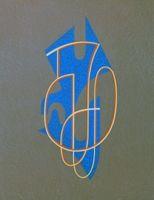 Lithograph Domela - Composition