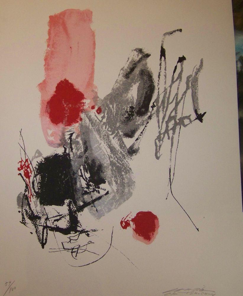 c9462eba1e4 Contact the Dealer Lithograph Chu Teh Chun - Composition
