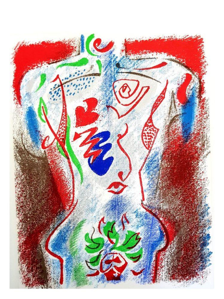 Lithograph Masson - Composition