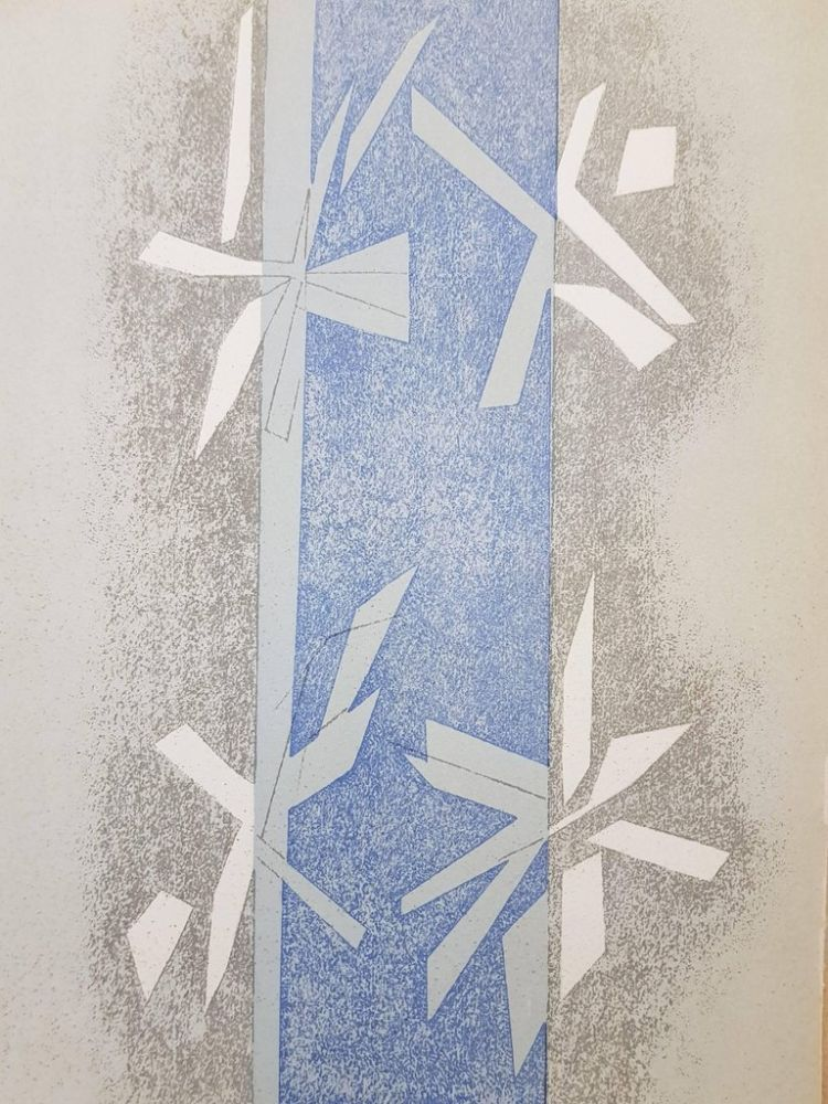 Lithograph Beaudin - Composition