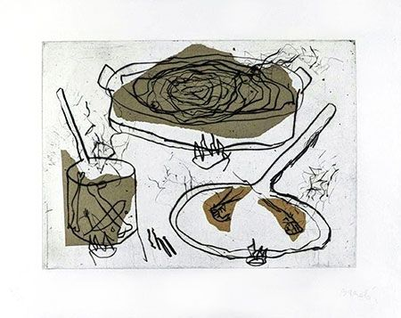 Etching Barcelo - Composition