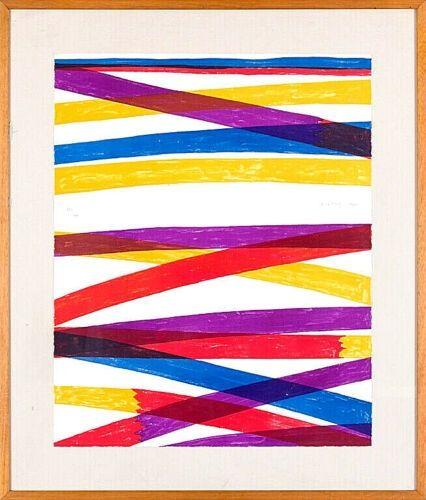Lithograph Dorazio - Composition