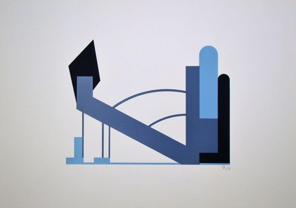 Screenprint Maatsch - Composition
