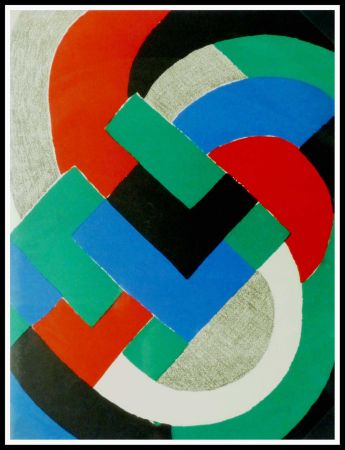 Lithograph Delaunay - COMPOSITION