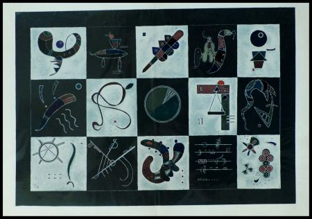 Lithograph Kandinsky (After) - COMPOSITION