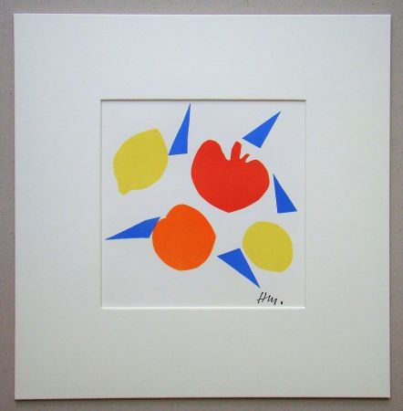 Lithograph Matisse (After) - Composition
