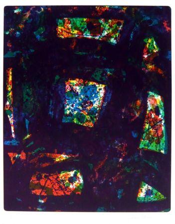 Lithograph Francis - Composition