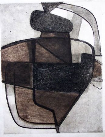 Etching And Aquatint Esteve - Composition