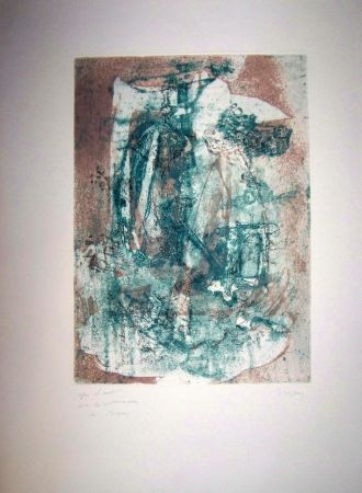 Etching And Aquatint Bryen - Composition