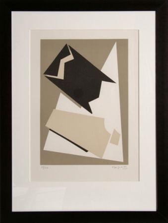 Lithograph Magnelli - Composition