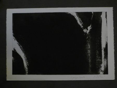 Aquatint Debré - Composition