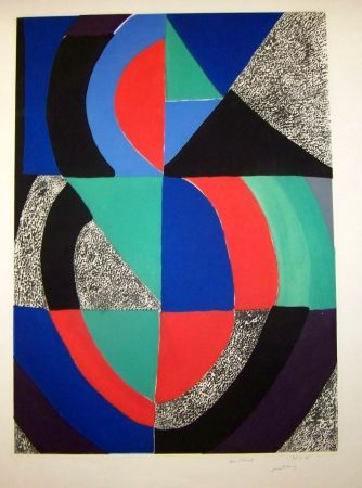 Etching And Aquatint Delaunay - Composition