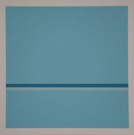 Screenprint Calderara - Composition