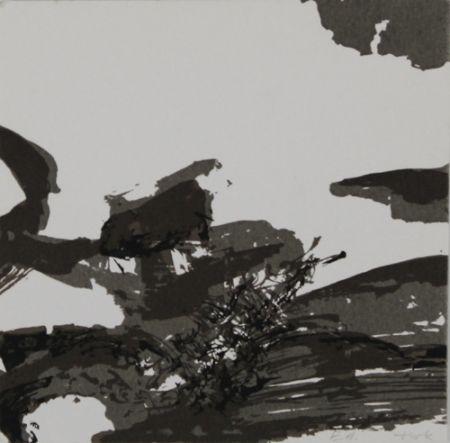 Lithograph Zao - Composition