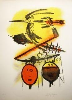 Lithograph Lam - Composition