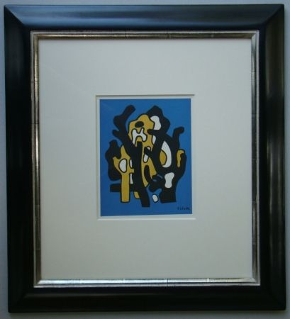 Lithograph Leger - Composition