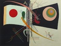 Lithograph Kandinsky - Composition