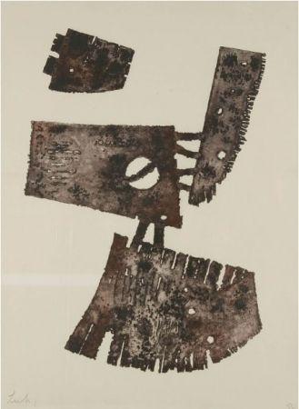 Engraving Lardera - Composition