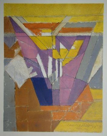 Lithograph Villon - Composition