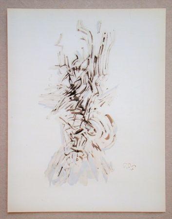 Pochoir Tobey - Composition
