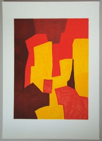 Lithograph Poliakoff - Composition