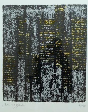 Lithograph Leppien - Composition