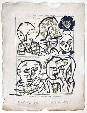 No Technical Alechinsky - Composition