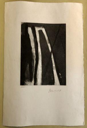 Etching Van Velde - Composition