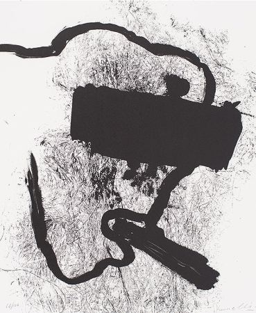 Lithograph Kounellis - Composition