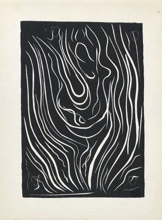 Linocut Matisse - Composition