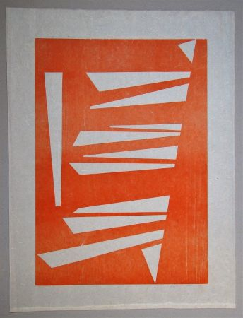 Woodcut Gessner - Composition