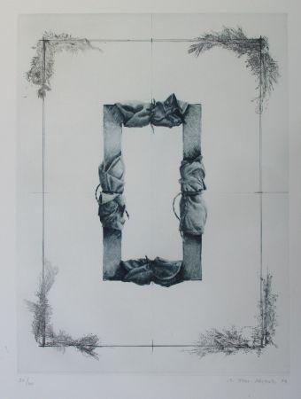 Etching Titus Carmel - Composition