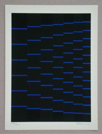 Screenprint Bézie - Composition