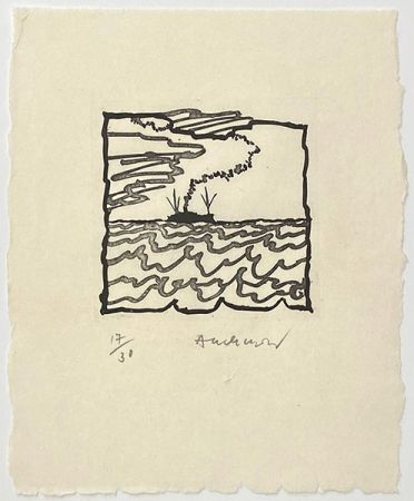 Etching Alechinsky - Composition