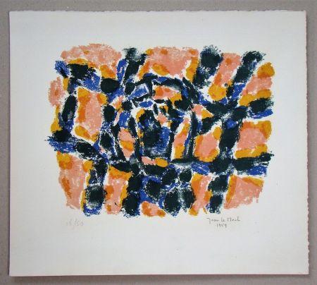 Lithograph Le Moal - Composition - 1959