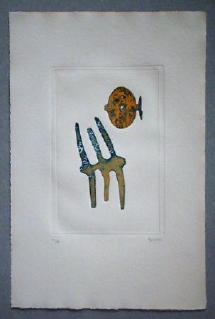Aquatint Springer - Composition - 1970