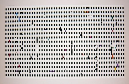 Screenprint Agam - Composition 1